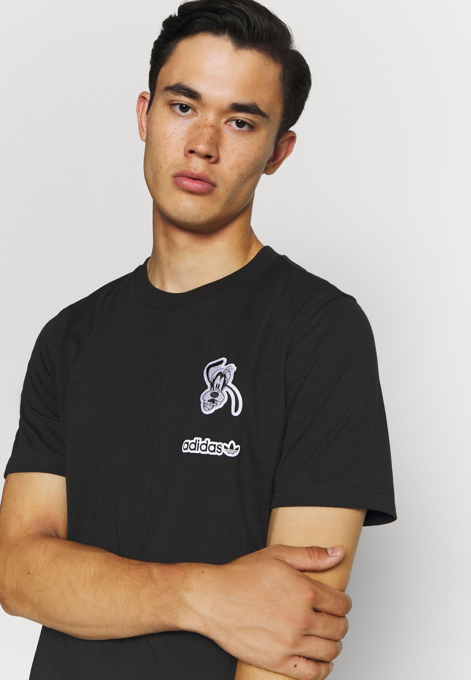 Adidas Originals Goofy Tee - T-shirt Z Nadrukiem Black