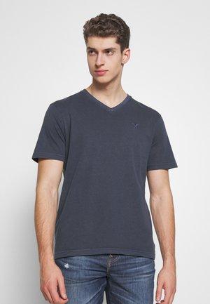 BUTLER - T-shirt basique - navy
