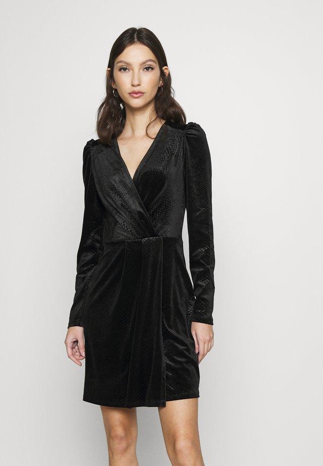 ONLNERVE SHORT DRESS  - Day dress - black