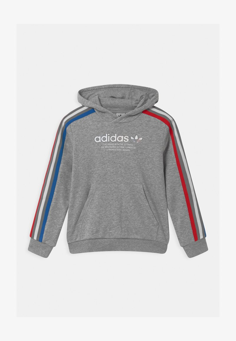 adidas Originals - HOODIE UNISEX - Sweatshirt - medium grey heather