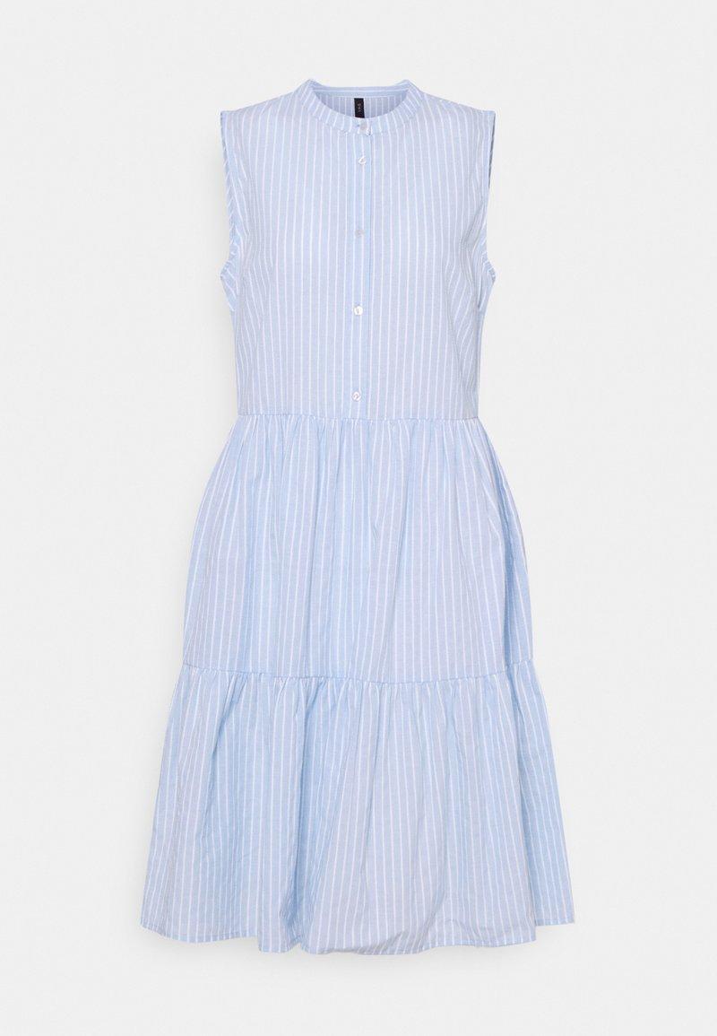 YAS Tall - YASSTRILLA SHORT DRESS  - Shirt dress - cashmere blue