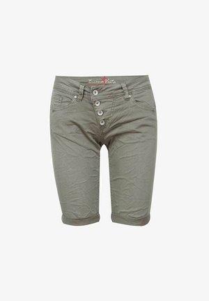 MALIBU - Denim shorts - green