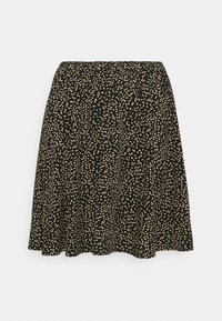Moss Copenhagen - TALLA BEACH SKIRT - Mini skirt - black - 0