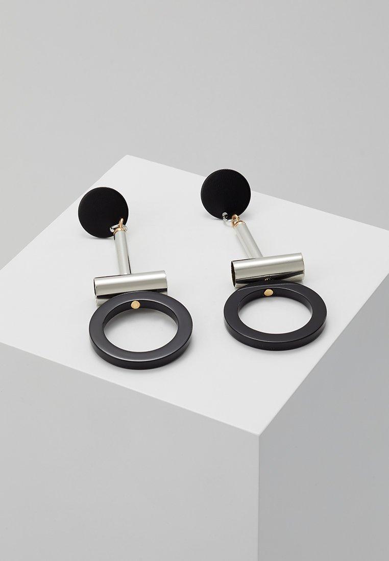 sweet deluxe - GUANNA - Earrings - silber/schwarz