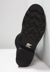 Sorel - EMELIE FOLD-OVER - Winter boots - black - 4
