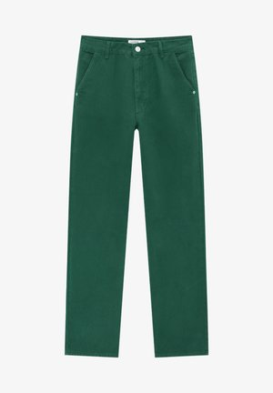 Jeans a sigaretta - green