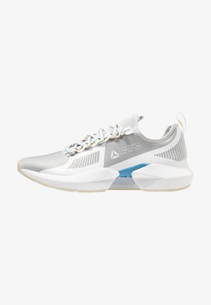 SOLE FURY TS - Sports shoes - grey/white/cyan