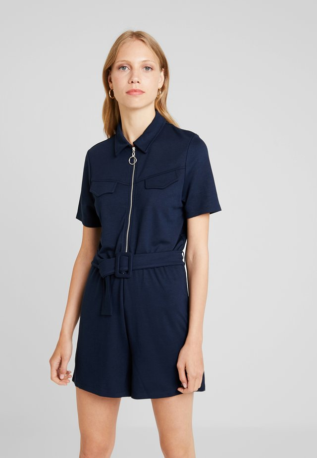 Jumpsuit - maritime blue