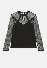 Morgan - TAPLU - Camiseta de manga larga - noir - 5