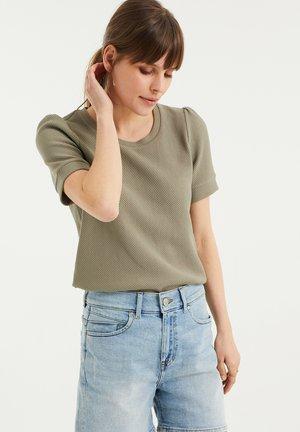 Basic T-shirt - olive green