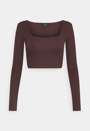 ALBA  - Long sleeved top - dark purple