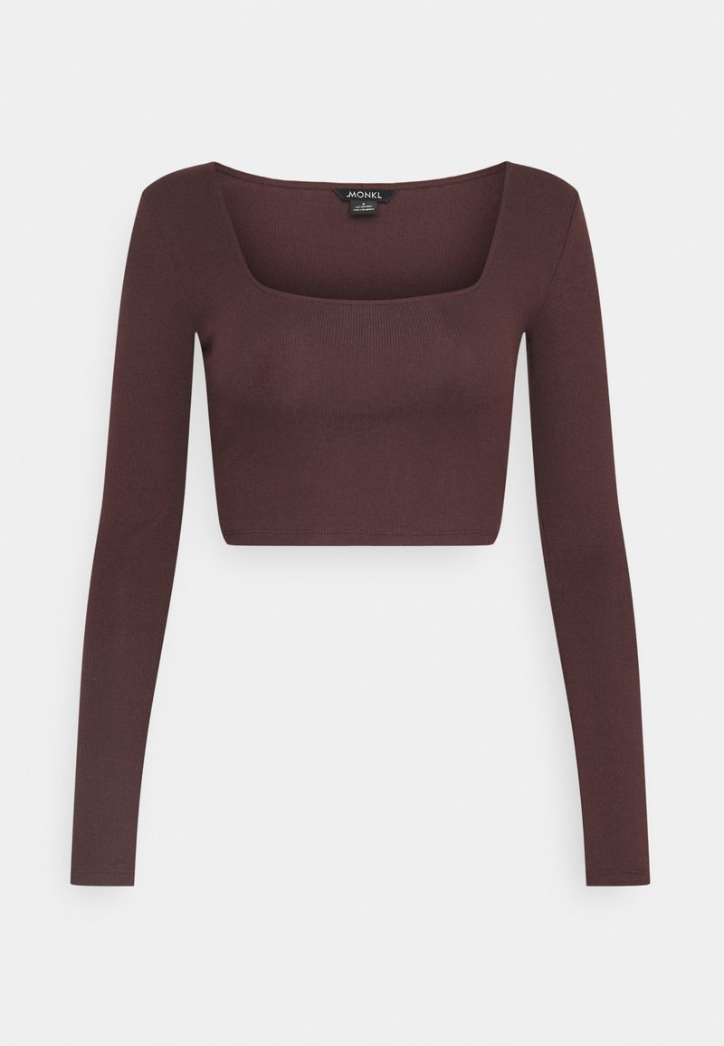 Monki - ALBA  - Topper langermet - dark purple