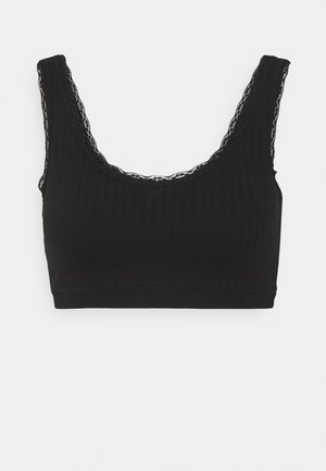 WITH PADDING - Bustier - black