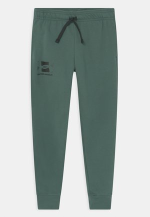 RIVAL UNISEX - Tracksuit bottoms - toddy green