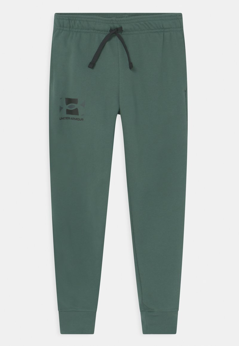 Under Armour - RIVAL UNISEX - Teplákové kalhoty - toddy green