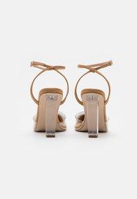 Dorothy Perkins - ETSIE PERSPEX HEEL COURT - High heels - nude - 3