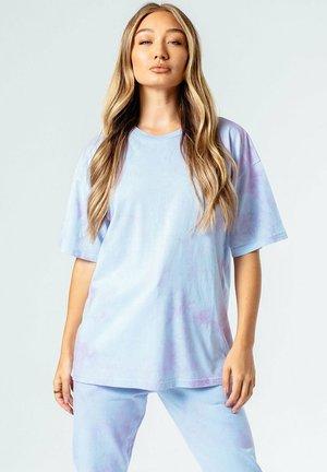 T-shirt med print - blue/pink