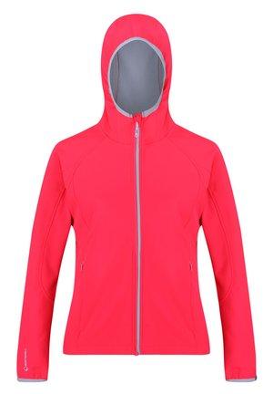 Soft shell jacket - neonpk(ltst)