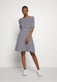 Anna Field - BASIC  - Jerseykjole - maritime blue/cloudancer stripe - 1