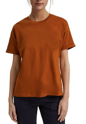 CORE  - T-shirt basic - caramel