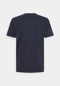 TOM TAILOR - COLORFUL NEP HENLEY - T-shirt med print - sailor blue melange - 1