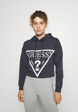 ALISA HOODED - Sweatshirt - blue graphite grey