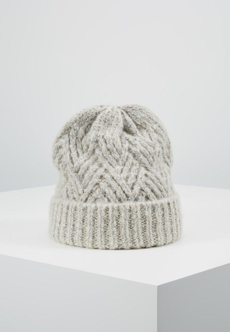 Pieces - Mütze - light grey melange