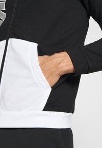 Nike Performance - Zip-up hoodie - black/white - 5
