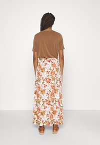 Vila - VIWAW RUA  SKIRT - Maxi skirt - snow white - 2