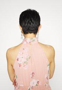 Vero Moda - VMLOVELY HALTERNECK LONG DRESS - Maxi dress - misty rose - 6
