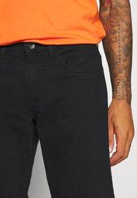 Redefined Rebel - MONACO - Jeans slim fit - deep black - 3