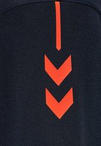 Hummel - ACTION  - Sweatshirt - dark sapphire/fiesta - 4