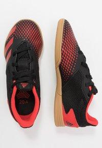adidas Performance - PREDATOR 20.4 IN SALA - Halówki - core black/active red - 0