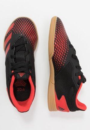PREDATOR 20.4 IN SALA - Indoor football boots - core black/active red