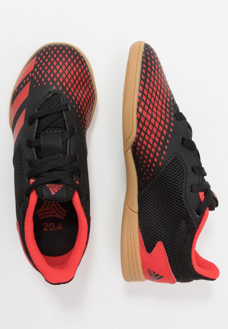 adidas Performance - PREDATOR 20.4 IN SALA - Halówki - core black/active red