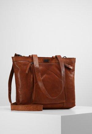 Handbag - brandy