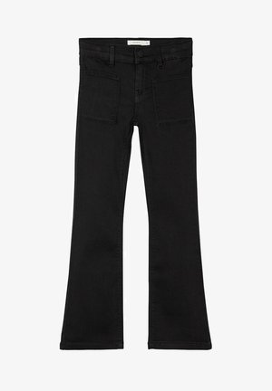 Bootcut jeans - black denim