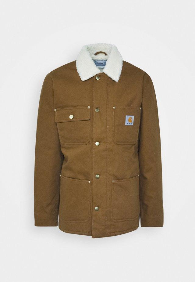 FAIRMOUNT COAT DEARBORN - Giacca invernale - brown rigid