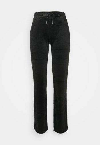 CECILIA TROUSERS - Pyjama bottoms - black