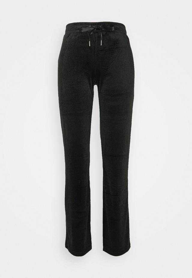 CECILIA TROUSERS - Nattøj bukser - black