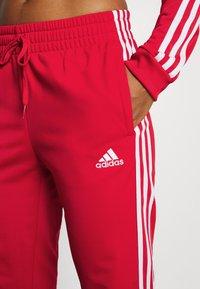 adidas Performance - Tracksuit - vivid red/white - 5