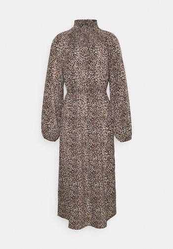 ONLMILLE LEO CALF DRESS - Kjole - black