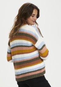 Kaffe - KAMERLA - Cardigan - multi color stripe - 2