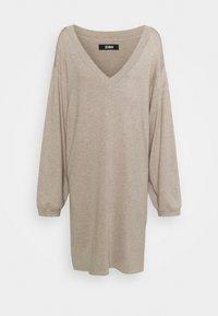 Zign - Strikket kjole - dark brown - 5