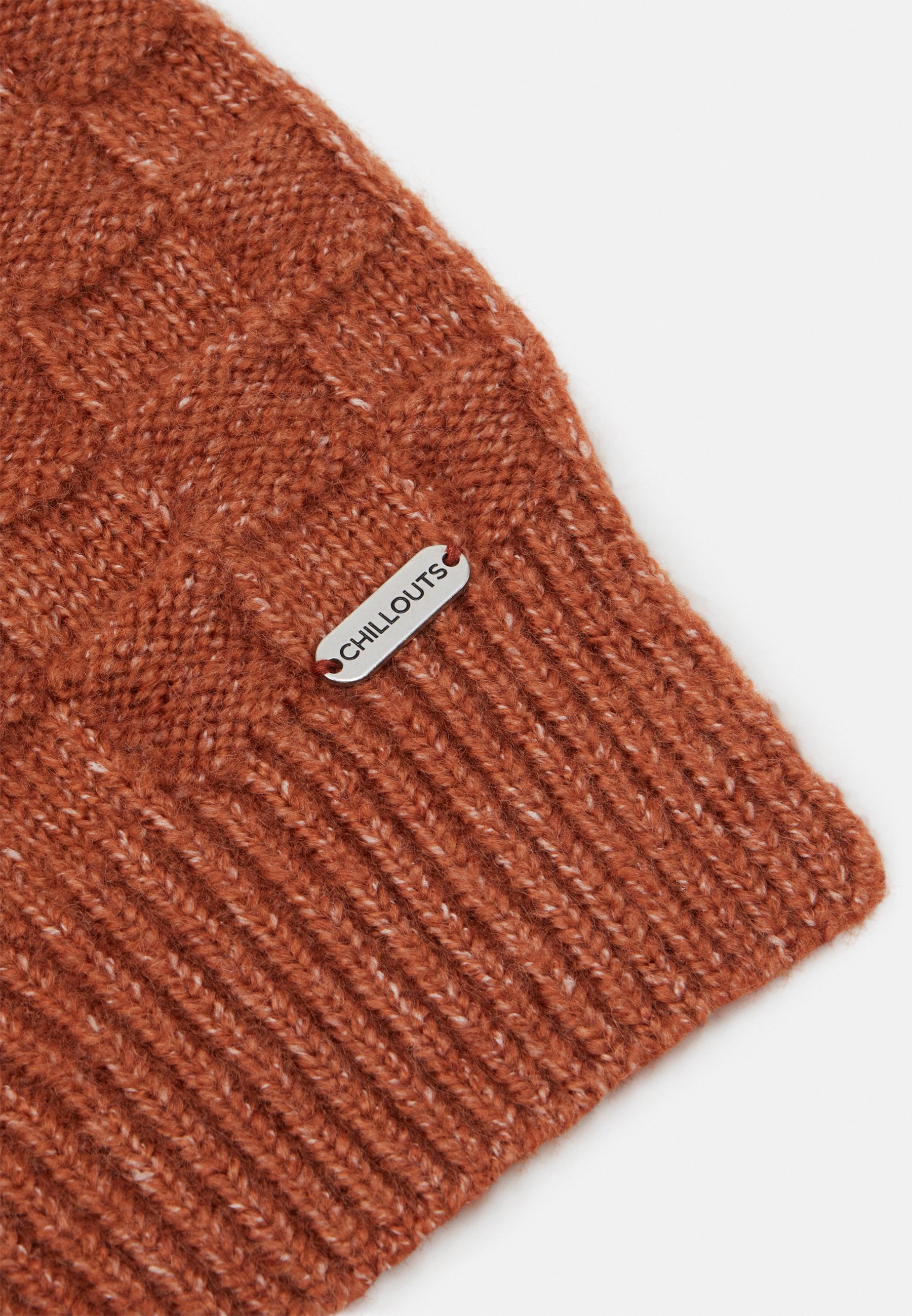 Chillouts Giovana Scarf - Schal Rust/rot-metallic