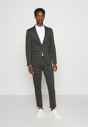 CHECKED SUIT - Traje - grey