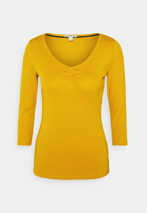 FLOW CORE - Long sleeved top - brass yellow