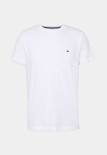 SLUB TEE - T-shirt basic - white