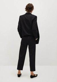 Mango - CANAS-I - Trousers - noir - 2