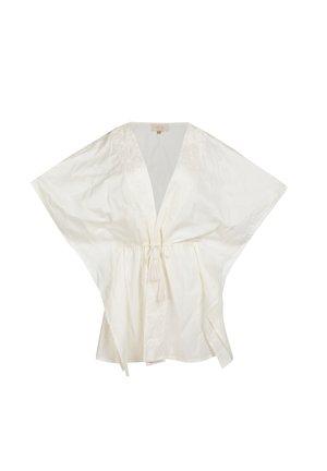 Veste légère - blanc cassé